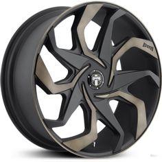 New 2015 DUB Sleeper S125 Black & Machined Wheels & Rims