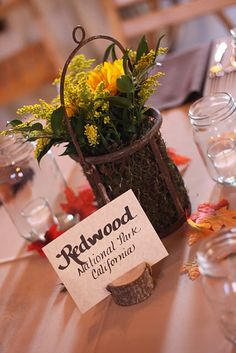 table number holder or name card holder