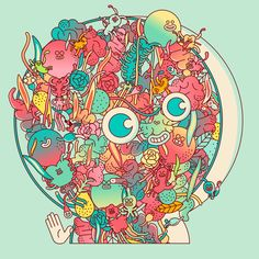 """Check out this @Behance project: """"Full of heart"""" https://www.behance.net/gallery/58507579/Full-of-heart"""