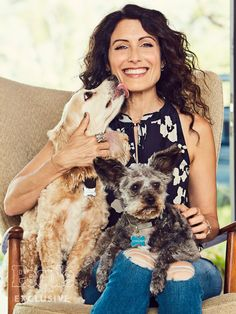 Lisa Edelstein Clear The Shelters Rescue Dogs