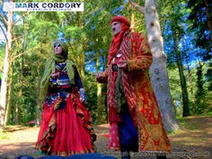 Costumes from Mythlore 'New Lands' LARP
