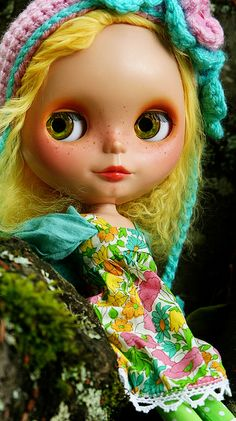 Blythe - great job with the freckles