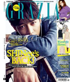 Minho - Grazia Magazine August Issue '15