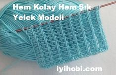 Both Easy and Stylish Vest Model – Good Hobby - Stricken Stylish Summer Outfits, Moda Emo, Knitted Baby Clothes, Baby Scarf, Lang Yarns, Seed Stitch, Knitting Videos, Affordable Clothes, Baby Knitting