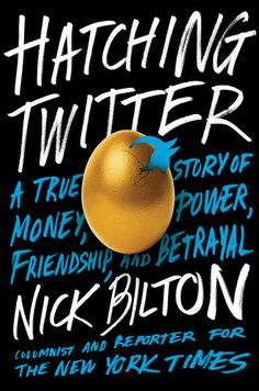 This deeply-researched, fascinating glimpse into twitter's early days has the pacing of a good novel and is rich with interesting insights into social media, the larger web, start-up culture, and human nature. You can't make this stuff up—but if you tried, you could only hope to invent anecdotes as bizarre and readable as the ones in this account. Recommended reading for Jon Krakauer fans—and anyone who spends much time on social media.