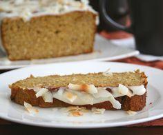 Pumpkin Coconut Bread @dreamaboutfood
