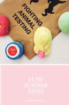 My family's Lush summer favourites!
