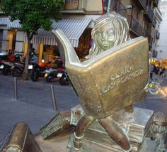 Visit the statue in Sevilla honoring Clara Campoamor!