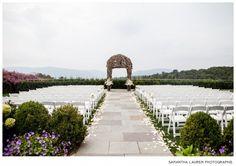 Wedding Ceremony at The Garrison Courtesy of Samantha Lauren Photographie