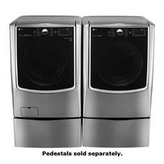 LG Appliances WM9000HVA-DLEX9000V Washer and Dryer Set