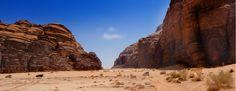 Wadi Rum (Jordan). Where Raiders of the Lost Ark was filmed. #3rdRockAdventures