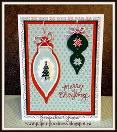 Paper Goodness: Creating from the Heart: October Stamp of the Month Blog Hop! #Snowhaven #C1591MerryMerry #ArtPhilosophy