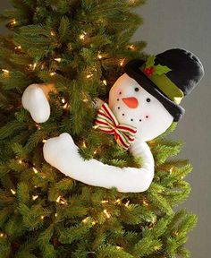 Frosty Snowman Tree Hugger Holiday Home Christmas Tree Top Seasonal Dec Ornament Snowman Christmas Tree Topper, Christmas Tree Tops, Christmas Tree Branches, Holiday Tree, Xmas Tree, Christmas Holidays, Christmas Crafts, Christmas Quotes, Christmas Pictures