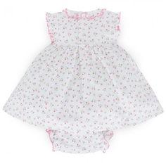 Kissy Kissy Babies Print Dress with Bloomers | AlexandAlexa