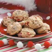 Cherry chocolate cookies!
