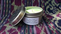 Minty Mojito Scented Soy Wax Candle by WillowGroveCandles on Etsy
