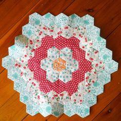 April hexagon block :) | Flickr - Photo Sharing!