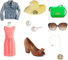 """Outdoor party!"" by infatuatedwithfashion ❤ liked on Polyvore"