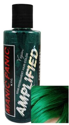 Manic Panic Amplified Hair Dye Green Envy 39 By Bewild