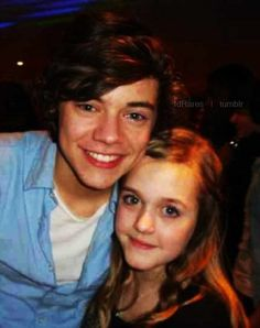 Harry and Lottie after the X-Factor Finals