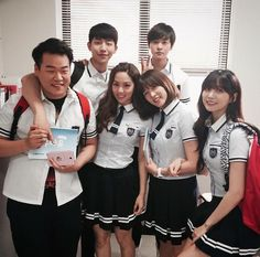 Who Are You School 2015, School 2013, High School, Korean Drama Movies, Korean Actors, Teen Series, Korean Tv Series, School Uniform Outfits, Kim Sohyun