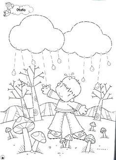 Menta Más Chocolate - RECURSOS PARA EDUCACIÓN INFANTIL: Dibujos para colorear: OTOÑO
