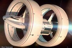 高まってきた!光速を超えて宇宙空間を移動、NASAがワープ型宇宙船、「IXSエンタープライズ」のイメージ図を発表
