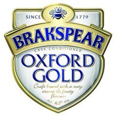 Oxford Gold Beer (UK) #oxfordgold
