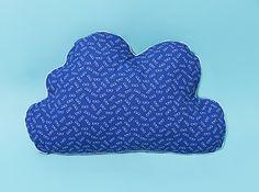 Kussen in de vorm van een wolk