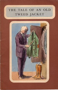 booklet published in the 50s for a British clothing store -- looks like an Edward Ardizzone illustration