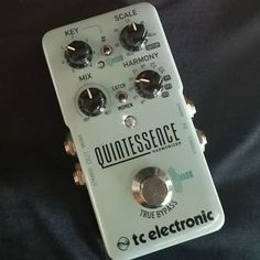 Spotted by @pedalsfusion: @tcelectronic Quintessence Harmonizer (with Toneprints mash switch). #tcelectronic #quintessence #harmonizer #effectsdatabase #fxdb #guitarpedals #guitareffects #effectspedals #pedals #guitarfx #fxpedals #pedalporn #geartalk