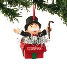 Mr. Monopoly Ornament