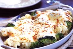 Cauliflower and broccoli gratin http://www.taste.com.au/recipes/13100/cauliflower+and+broccoli+gratin