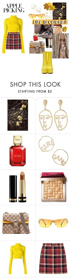 """""""After school activities"""" by letmestyleriri ❤ liked on Polyvore featuring Nature Home Decor, Michael Kors, BP., Gucci, Bobbi Brown Cosmetics, Chopard, Jacquemus, rag & bone and Vetements"""