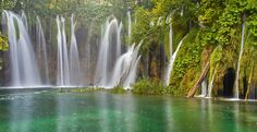 Waterfalls of Plitvice Lakes Croatia Plitvice National Park, Sounds Like, Oh The Places You'll Go, Croatia, Adventure Travel, National Parks, To Go, Waterfalls, Lakes
