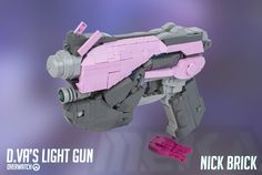 """D.Va's Light Gun - Overwatch"" by Nick Brick: Pimped from Flickr"