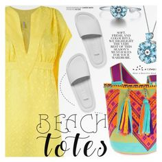 Beach Totes by totwoo on Polyvore featuring polyvore fashion style Blue Man Melissa Folio clothing