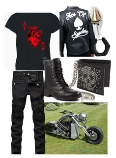 """""""Ace (OC)"""" by imortalsnail on Polyvore featuring Classics 77, Alexander McQueen, Reclaimed Vintage, men's fashion and menswear"""