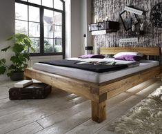Manželská postel Lombardia trámová divoký dub masiv 180x200, 200x200 a 200/220 cm