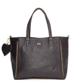 De Ellen Bag van Fab is een prachtige lederen tas die in het zwart, taupe en suede advocado uitgevoerd (€239,00)