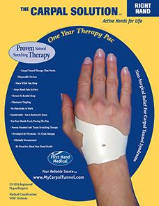 right carpal tunnel syndrome essay Carpal tunnel syndrome the carpal tunnel is a passageway that runs from the forearm through the wrist bones form three walls of the tunnel and a strong, broad ligament bridges over them.