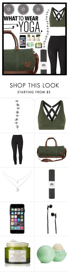 """""""Untitled #31"""" by mahileather ❤ liked on Polyvore featuring Koral, Venus, Off-White, Master & Dynamic, Fresh, Eos and plus size clothing"""