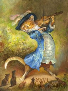 Hey Diddle Diddle, The Cat And The Fiddle ~ OMAR RAYYAN
