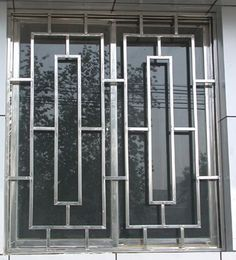 New simple iron window grill design Steel Grill Design, Home Window Grill Design, Balcony Grill Design, Grill Door Design, Window Design, Iron Window Grill, Window Grill Design Modern, Tor Design, Gate Design