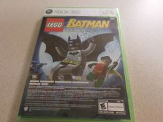 XBox 360 Lego Batman The Videogame / Pure Microsoft New Sealed