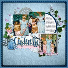 Princess Cinderella - MouseScrappers - Disney Scrapbooking Gallery