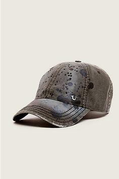 99997c347f7 True Religion PAINT SPLATTER BASEBALL CAP Paint Splatter