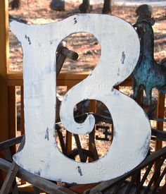 Custom letters a-z. would look awesome over a fireplace!