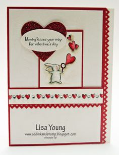 cute valentine card