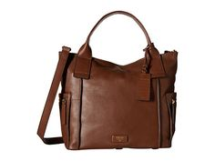 Fossil Emerson Satchel Brown 1 - Zappos.com Free Shipping BOTH Ways